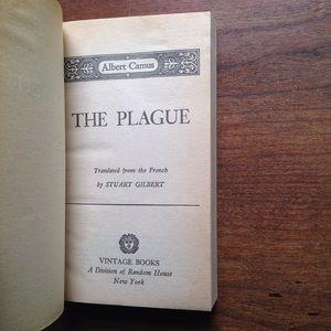 """Vintage Accents - Albert Camus """"The Plague"""""""